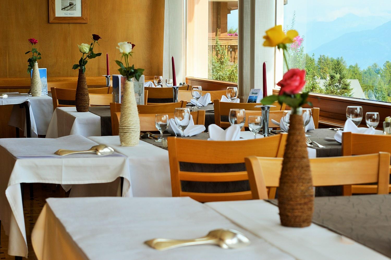 Restaurant activites outdoor crans montana