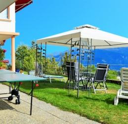 Hotel piste ski crans montana